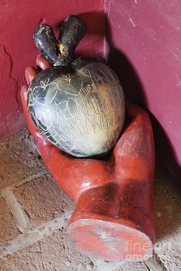 Apple Photograph - Sculpture Art by Jeremy Woodhouse