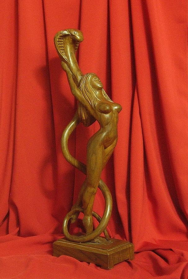 Panel Sculpture - Sculpture Of Eve by Goran