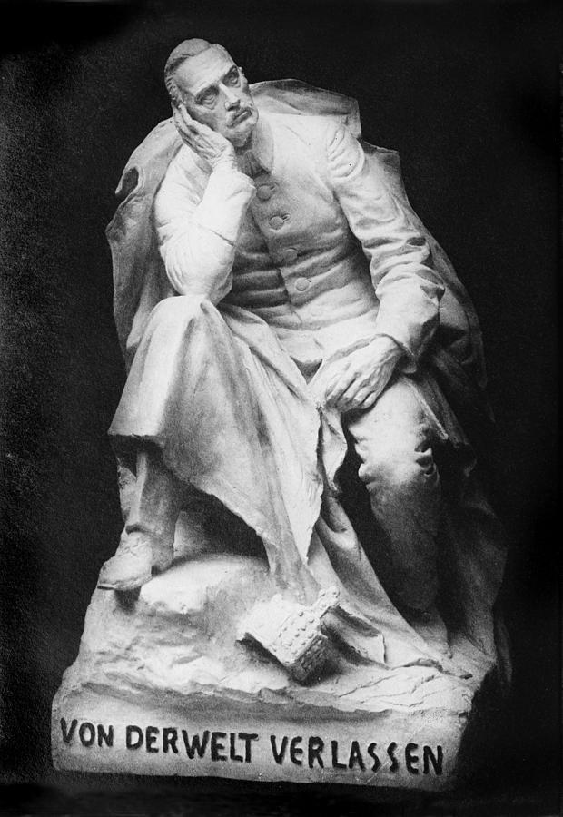 1920s Photograph - Sculpture Of Kaiser William II, Title by Everett