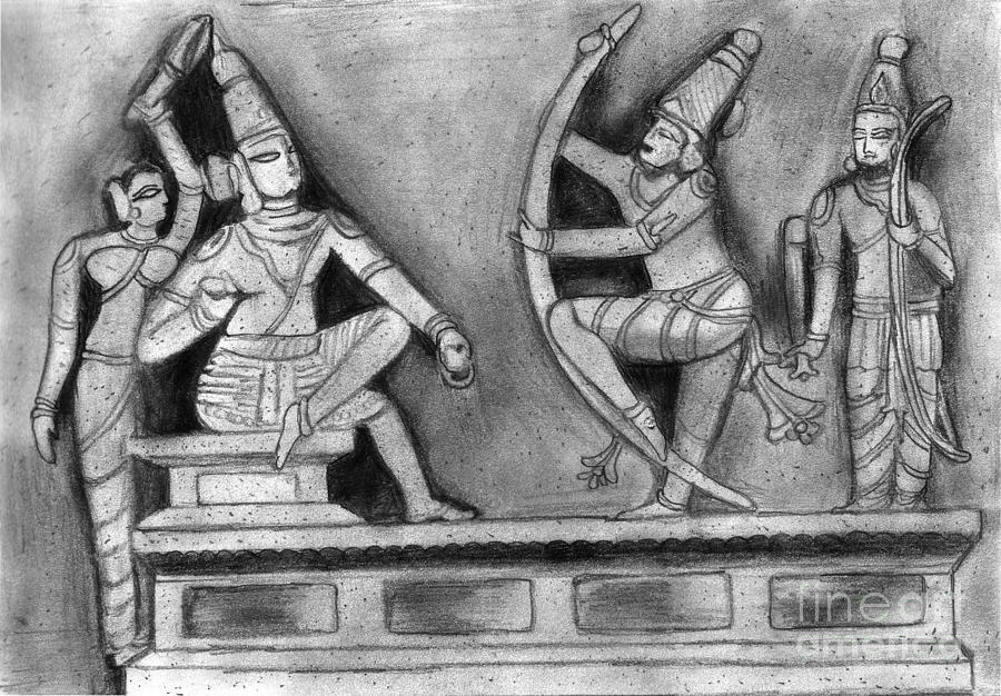 Pencil Sketches Ramayana