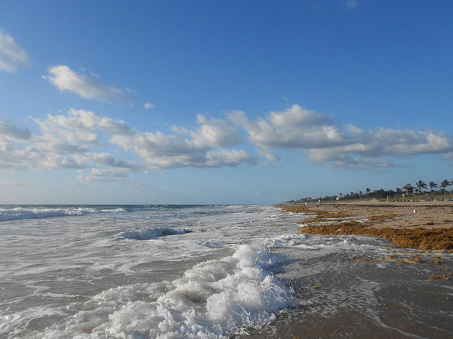 Nature Photograph - Sea And Sky by Sheila Silverstein