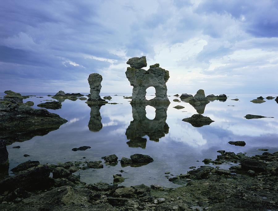 Stone Photograph - Sea Arch by Bjorn Svensson