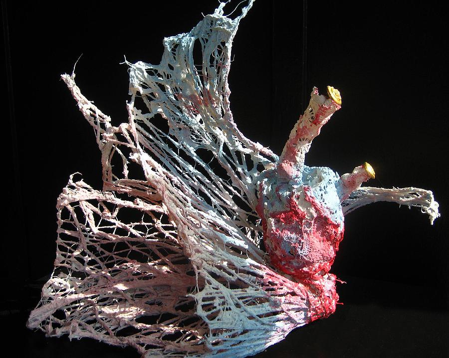 Heart Sculpture - Sea Creature 1 by Kyle Ethan Fischer
