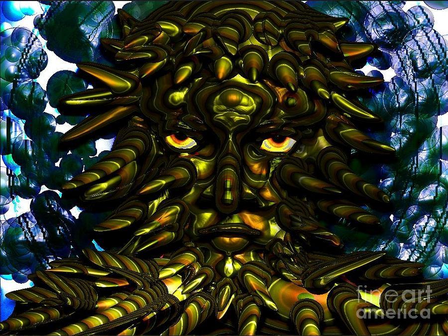Sea Creature Digital Art - Sea Creature by Anita V Bauer