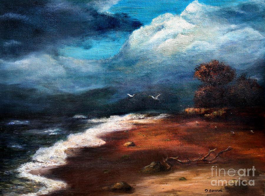Sky Painting - SEA by Danuta Bennett