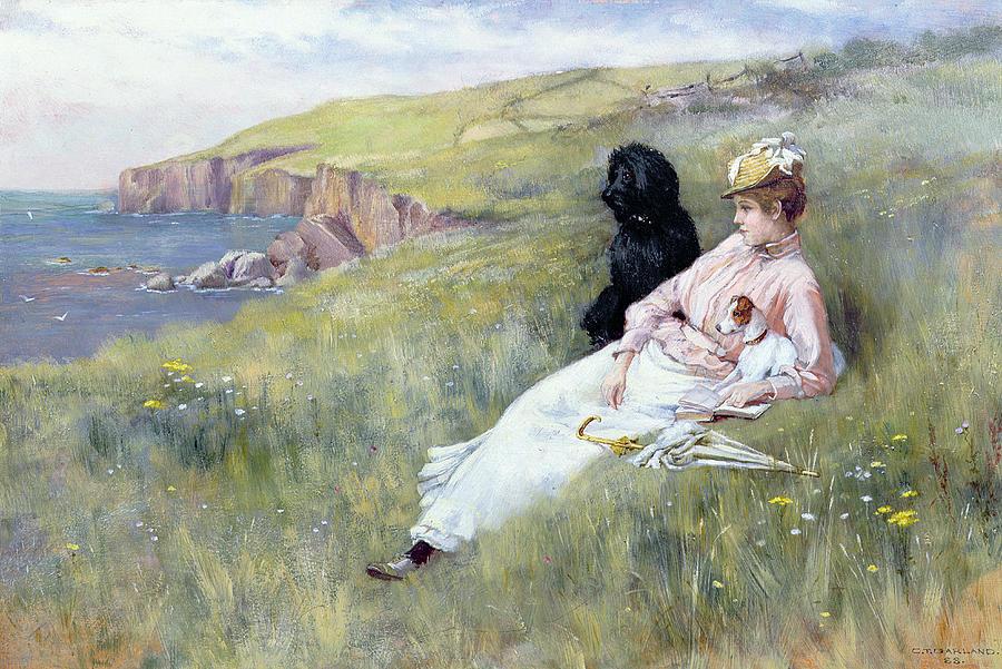 Charles Garland Painting - Sea Dreams by Charles Trevor Garland