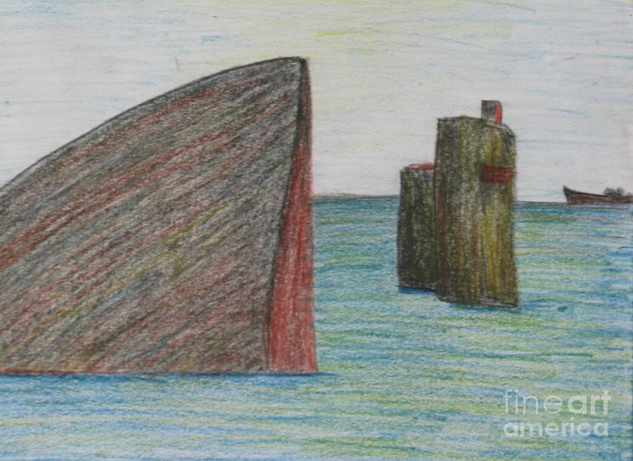 Paintings Drawing - Sea Front by Nedunseralathan R