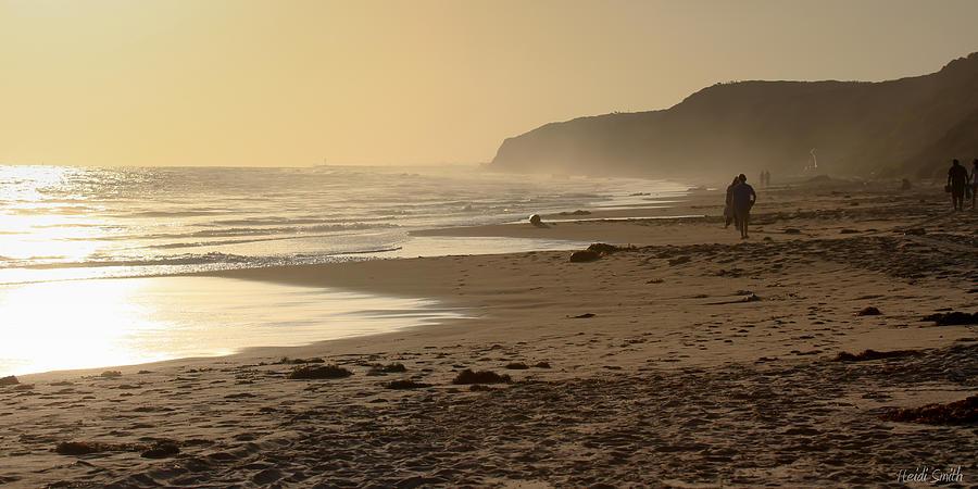 Sea Photograph - Sea In Sepia by Heidi Smith