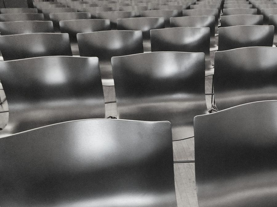Chairs Photograph - Sea Of Seats I by Anna Villarreal Garbis