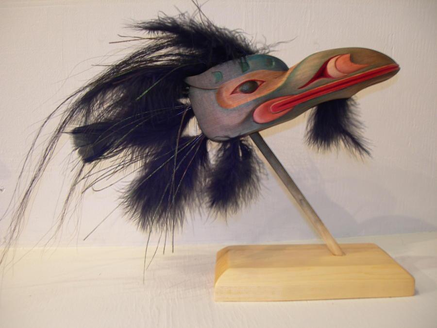Raven Sculpture - Sea Raven by Shane  Tweten