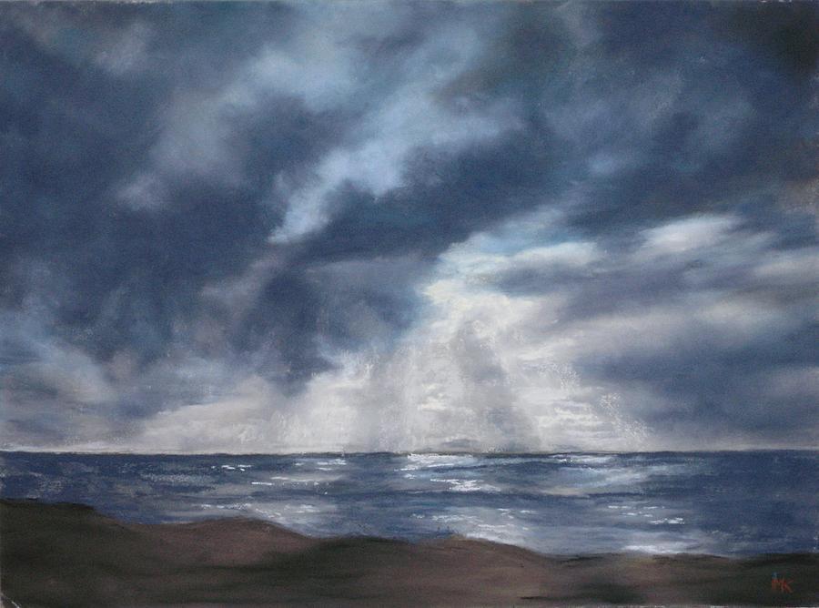 Sea Pastel - Sea Rays by Marlene Kingman