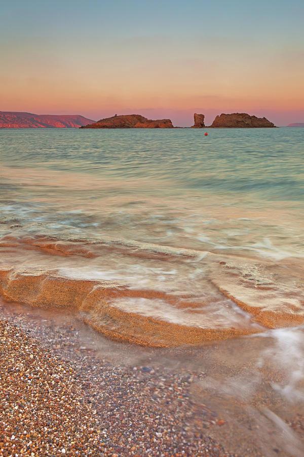 Vertical Photograph - Sea Waves, Sitia,greece by © Mitrakoulis Alexandros