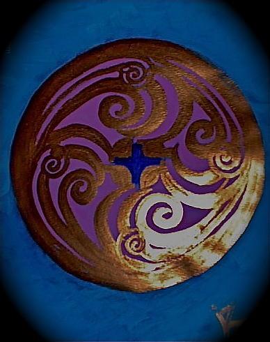Seal Of Life Mixed Media by Elizabeth Murphy-sweet