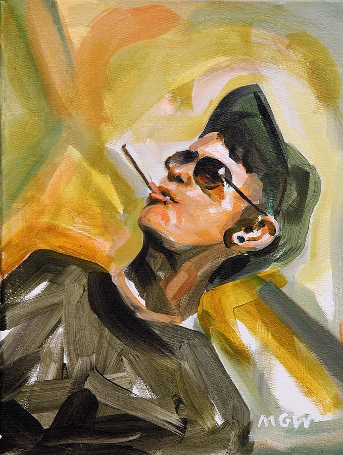 Still Painting - Sean Reber by Mark Wickline