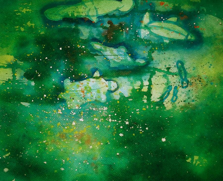 Spiritual Painting - Searching by Scott Harrington