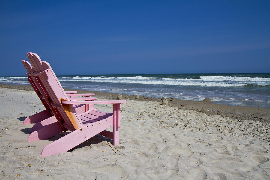 Topsail Photograph - Seas The Chair  by Betsy Knapp