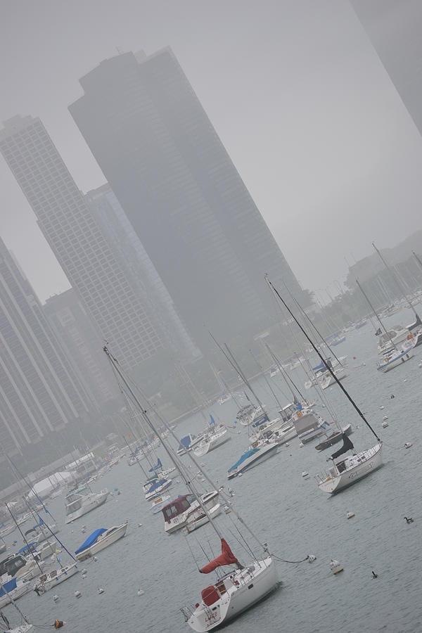 Chicago Photograph - Seascape by Rachel Nuest