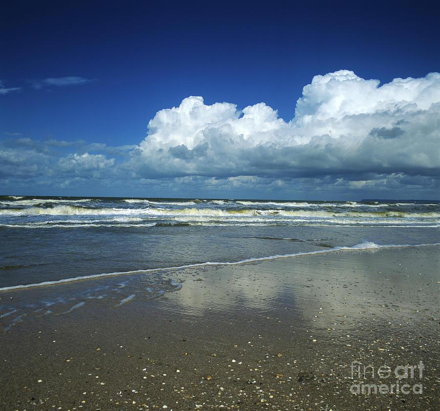 Outdoors Photograph - Seascape.normandy.france by Bernard Jaubert