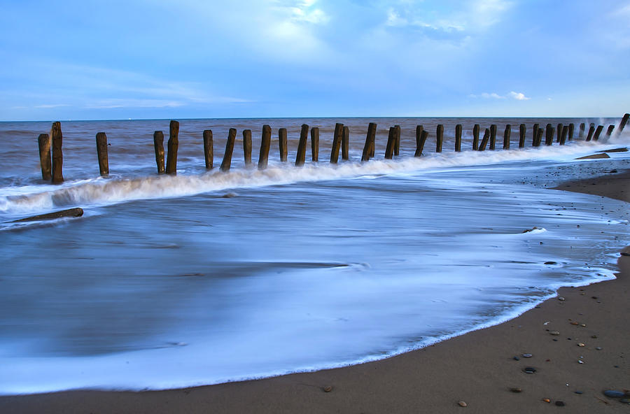 Bay Photograph - Seashore by Svetlana Sewell