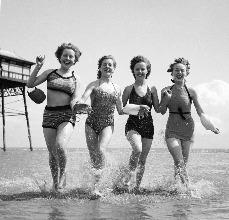 Adults Only Photograph - Seaside Fun by Chaloner Woods