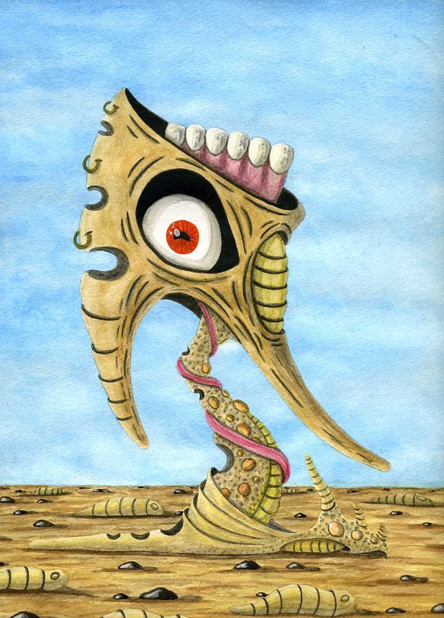 Eye Painting - Season Of The Liar by Jason Darge