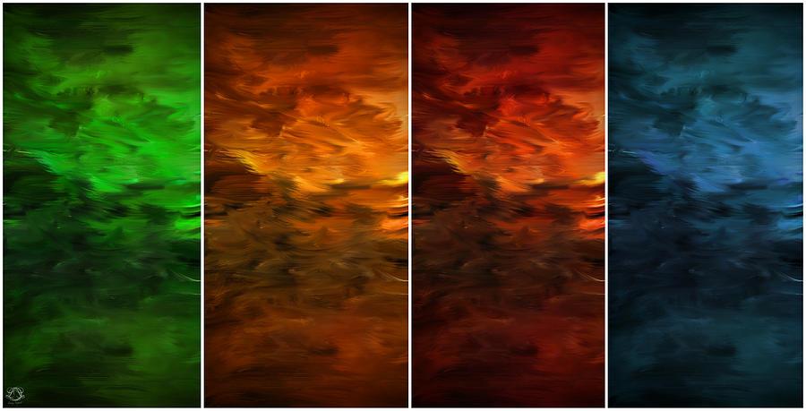 Four Seasons Photograph - Seasons Change by Lourry Legarde