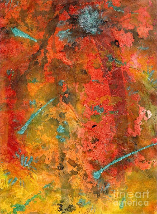 Acrylic Painting - Seasons Of Joy by Angela L Walker