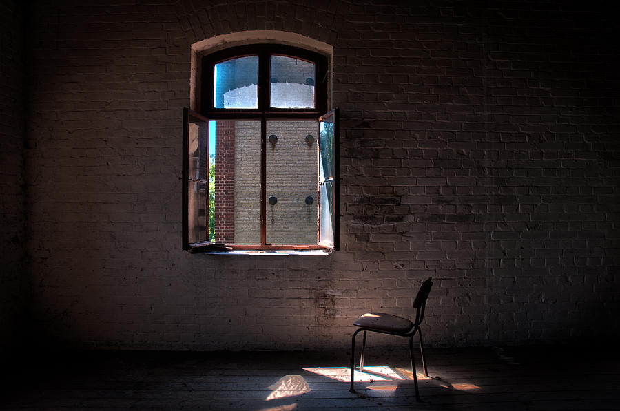 Abandon Photograph - Seat For One by Nathan Wright
