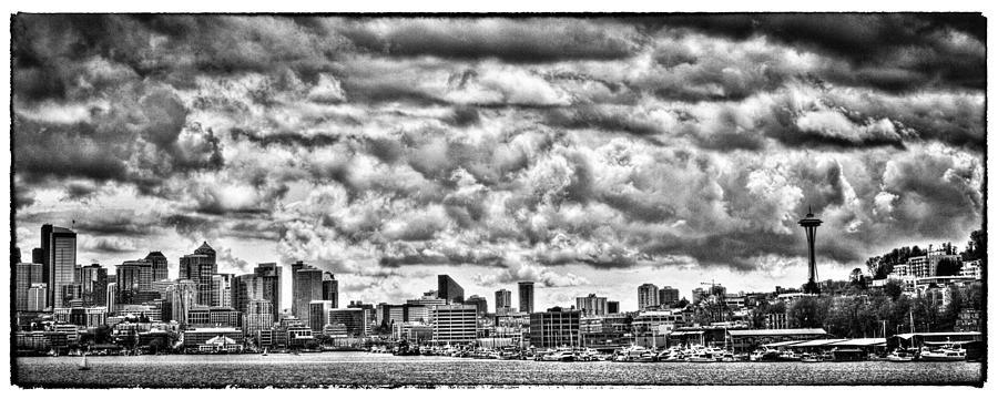 Seattle Photograph - Seattle Cityscape II by David Patterson