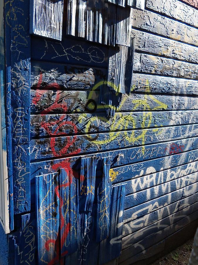 Graffiti Photograph - Seattle Graffiti by Randall Weidner