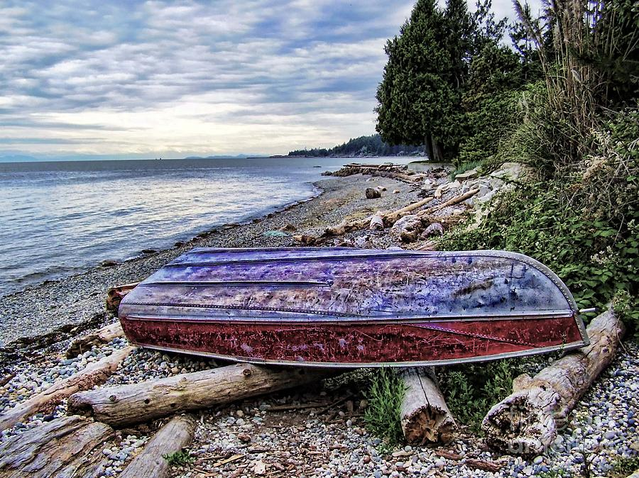 Boat Photograph - Seaworthy by Diana Cox