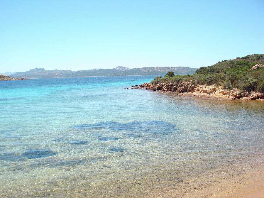 Horizontal Photograph - Secluded Beach by Holidaygold