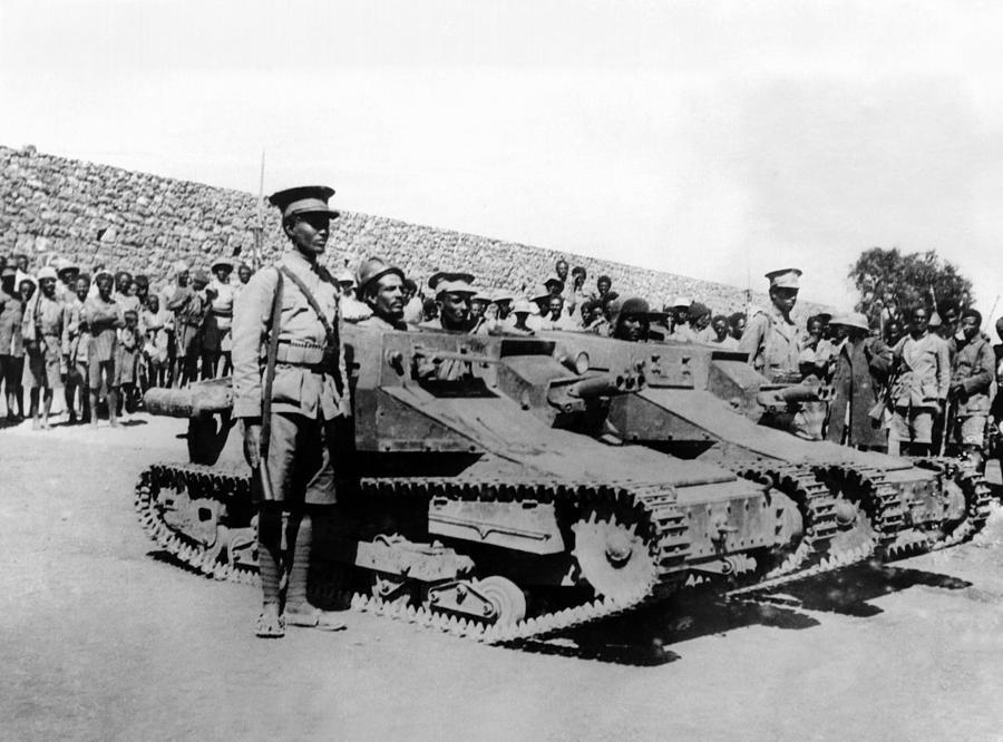 History Photograph - Second Italo-ethiopian War. Ethiopian by Everett