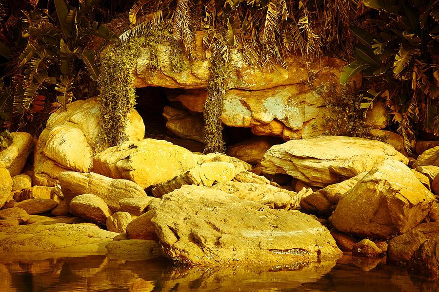 Cave Photograph - Secret Cave by Miguel Capelo