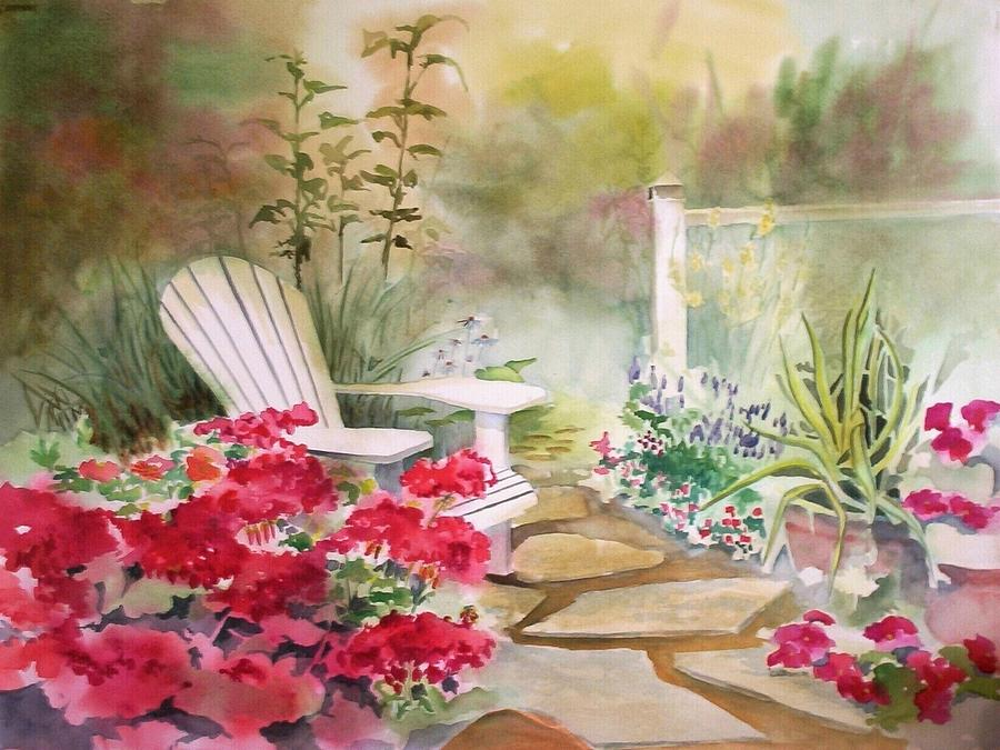 Secret garden by Richard Willows