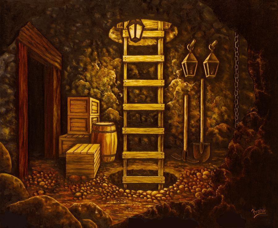 Secret Passage Painting - Secret Passage by Michael Frank