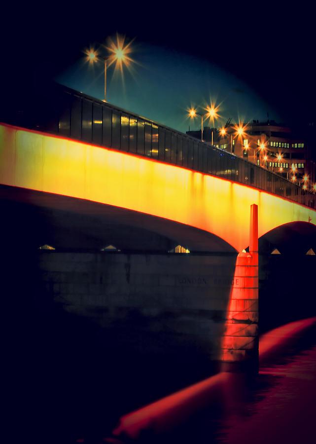 London Bridge Photograph - Secrets Of London Bridge by Jasna Buncic