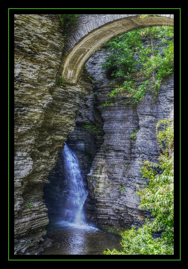 Gorge Photograph - Secrets Of Watkins Glen by Matthew Green