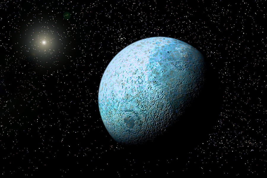 Illustration Photograph - Sedna, Kuiper Belt Object by Christian Darkin