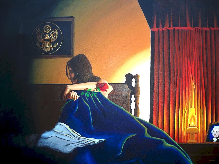 Patriotic Painting - Seduced by Hershel Kysar