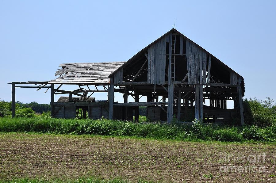 Barn Photograph - See-through Barn by Ginger Harris