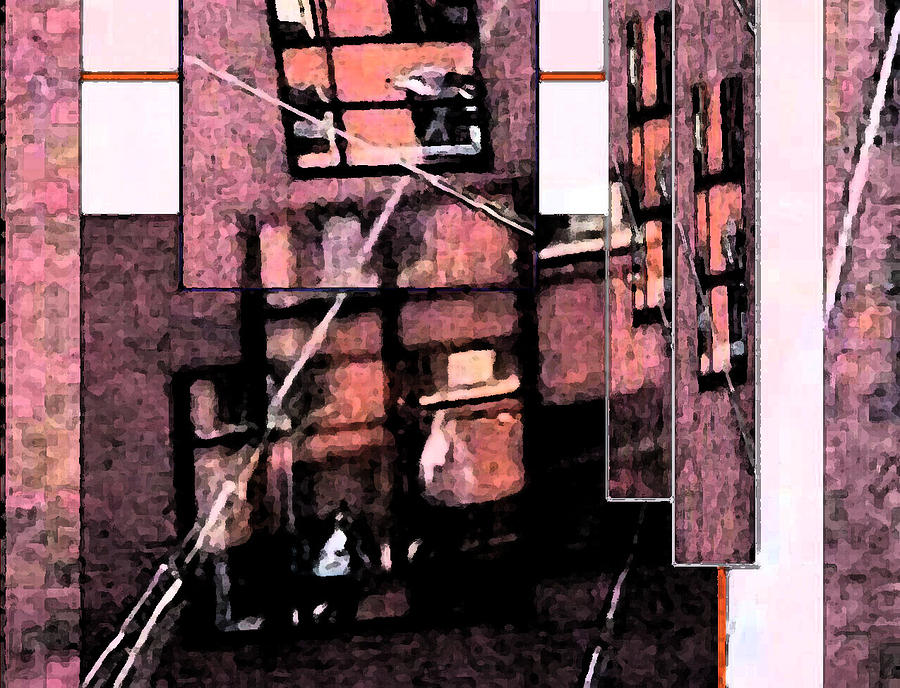 Windows Photograph - See Through by Gretchen Wrede