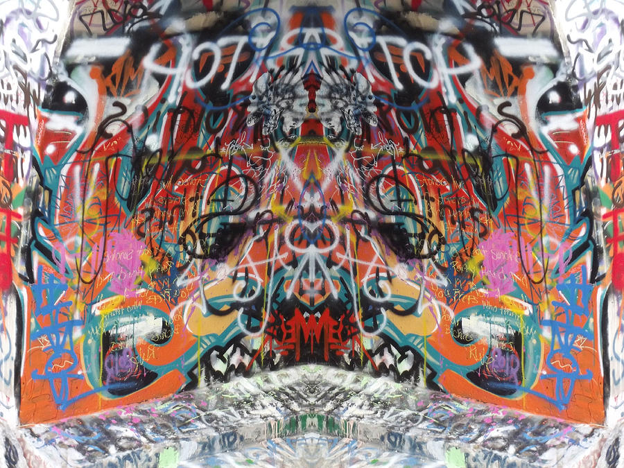 Mirror Image Photograph - Seeing Double by Cindy Nunn