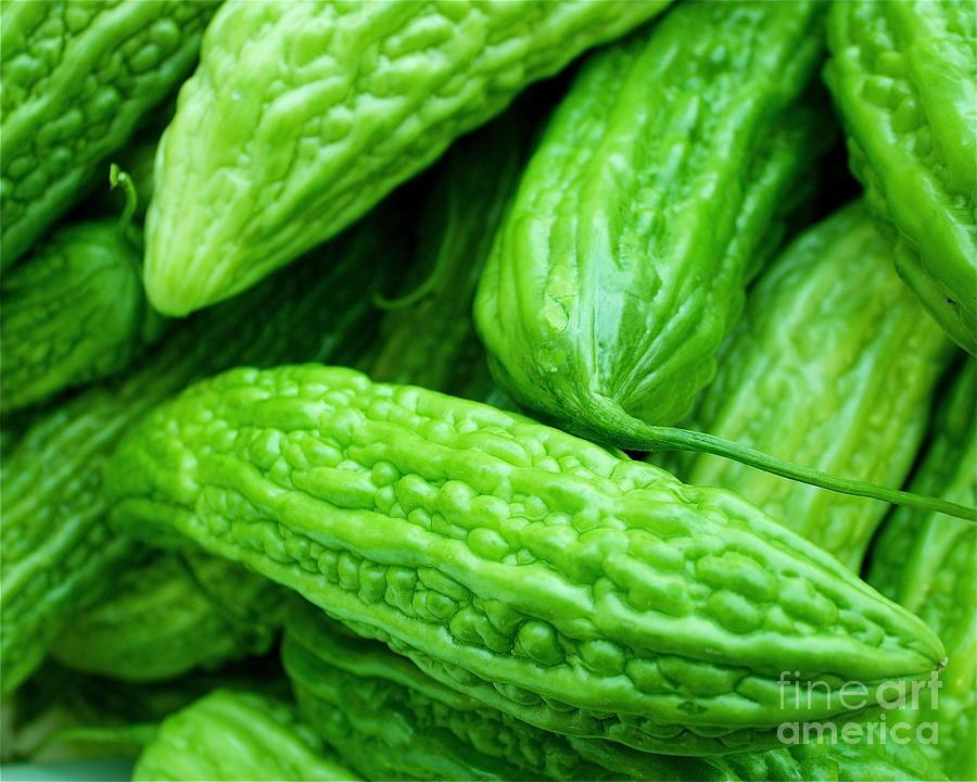 Vegetables Photograph - Seeing Green by Lisa Billingsley