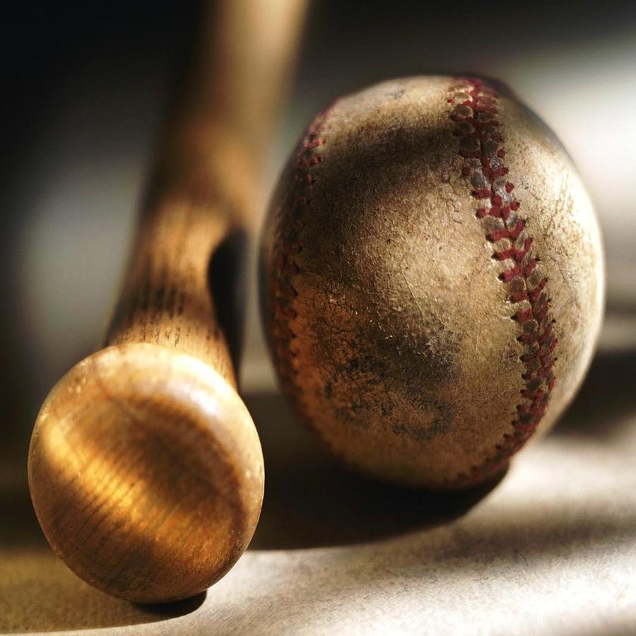 Baseball Photograph - Seen Many A Game by Florene Welebny