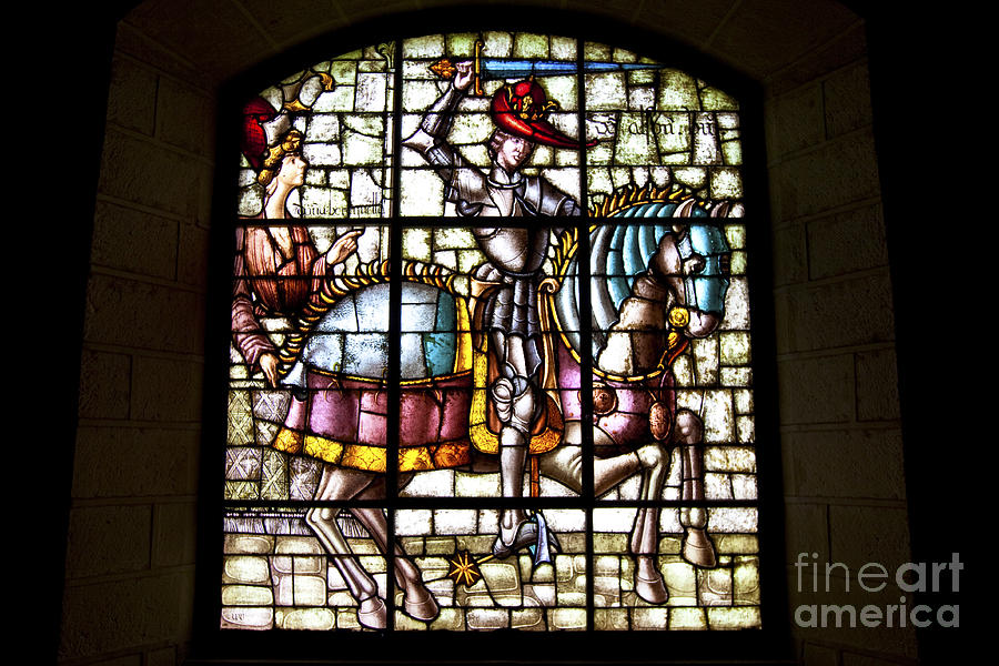 Segovia Photograph - Segovia Alcazar Glass by Scotts Scapes