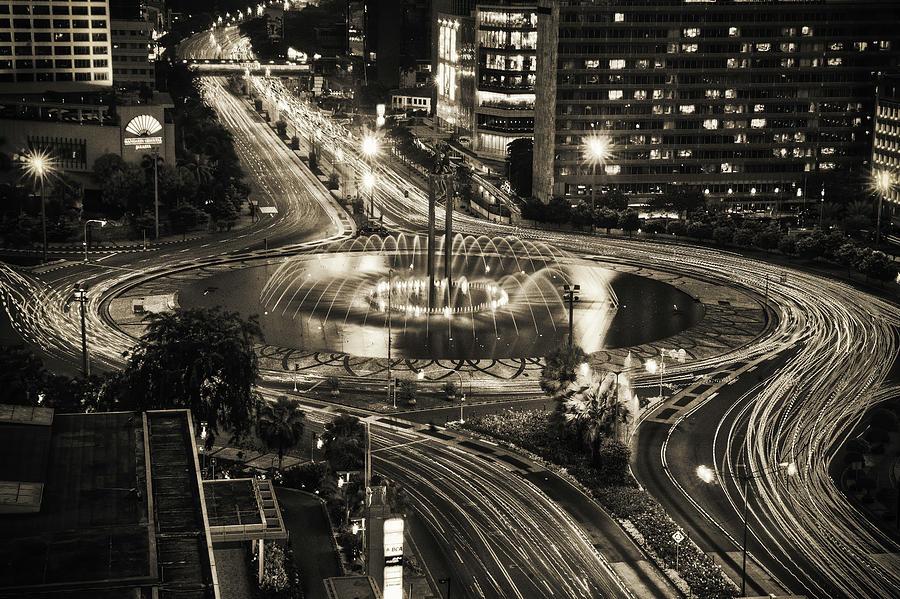 Horizontal Photograph - Selamat Datang Monument by David Fletcher