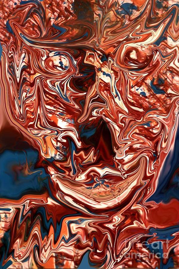 Digital Painting - Self Portrait by Robert Haigh