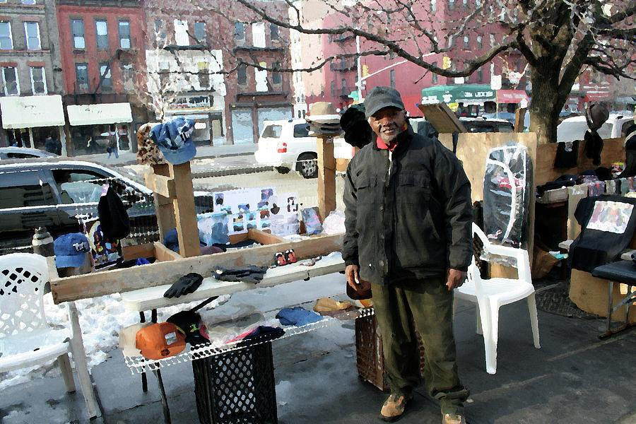 Harlem Digital Art - Selling My Wares by Terry Wallace