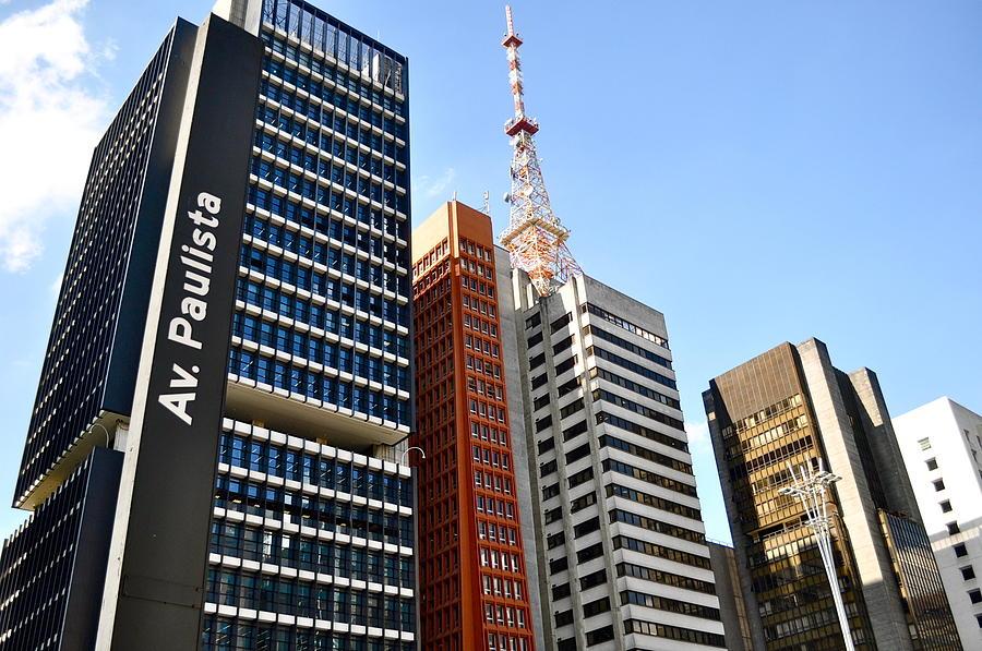 Avenida Paulista E Seus Edif�cios Gigantes!  Photograph - Selva De Concreto by Tralheria Paralela